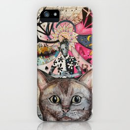 """Cat"" illustration iPhone Case"