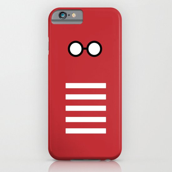 Where's Waldo Minimalism iPhone & iPod Case