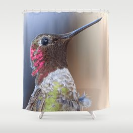 Bird color 5 Shower Curtain