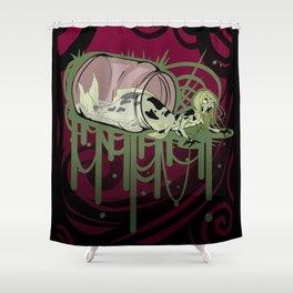 Fiji Mermaid Shower Curtain