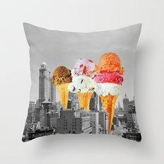 Urban Delights 1 Throw Pillow