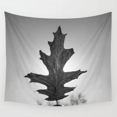 Dark Leaf 3 Wall Tapestry