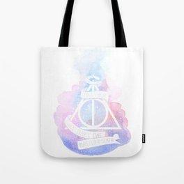 Hallows watercolors Tote Bag