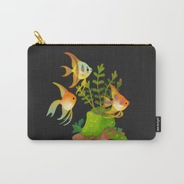 Fresh water fish and plants 2 Carry-All Pouch