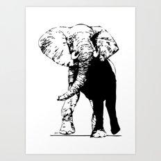 Elephant - M Art Print