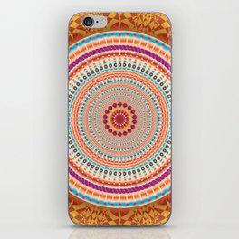 Friendship Mandala - מנדלה רעות iPhone Skin
