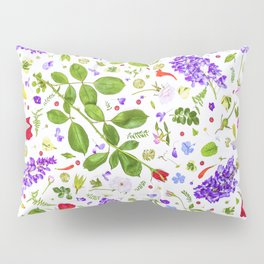 Leaves and flowers (14) Pillow Sham