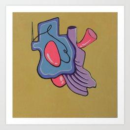 Organ #1 Art Print