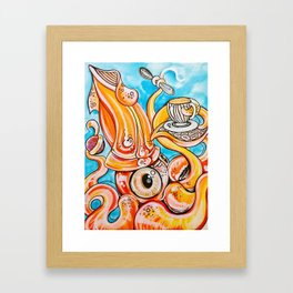 Sea Tea Framed Art Print