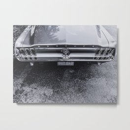 Mustang Shelby Gt350 Rear Metal Print