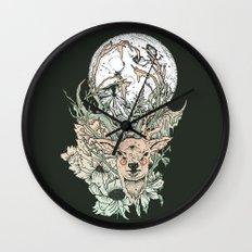 D E E R M O O N Wall Clock