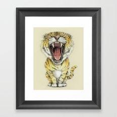 rawr Framed Art Print