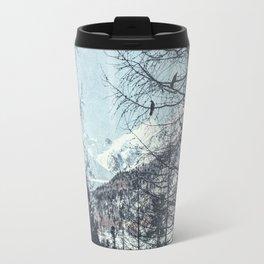 distant mountains Travel Mug