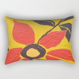 Flower Pop Rectangular Pillow