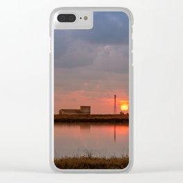 Saline di Trapani Clear iPhone Case