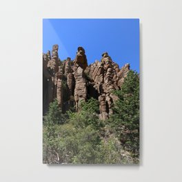 Organ Pipes At Bonita Canyon Metal Print