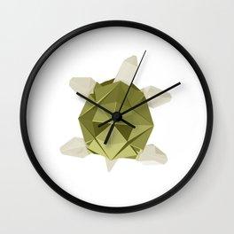 Origami Turtle Wall Clock