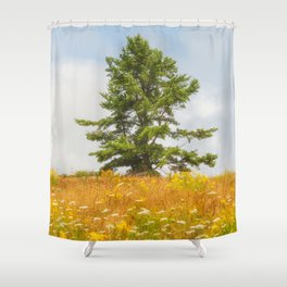 Meadow Warden Shower Curtain