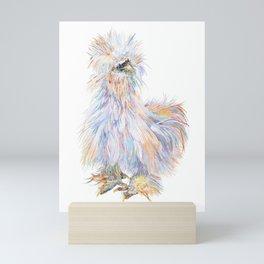 Silkie Chicken - Toto Mini Art Print
