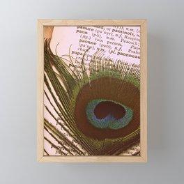 Paon Framed Mini Art Print