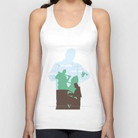gta Tank Tops featuring GTA V - FRANKLIN CLINTON by ahutchabove