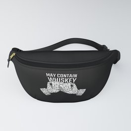 May Contain Whiskey T-Shirt Fanny Pack