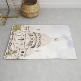 The Sacre-Coeur Basilica in Paris Rug