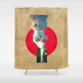 Thinking isn't easy Shower Curtain
