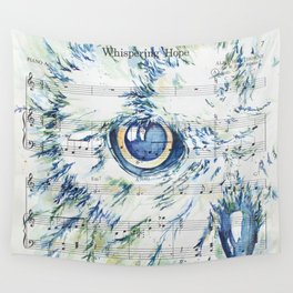 """""""Whispering Hope"""" Watercolor by Kit Sunderland Wall Tapestry"""