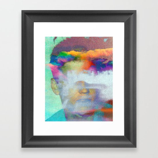Untitled 20120127c (Corey) Framed Art Print
