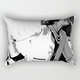 VINTAGE COCO: WHITE SUIT Rectangular Pillow
