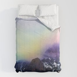 Mountain of Color Fog Comforters
