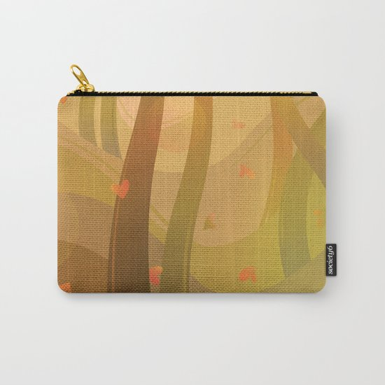 Enchanting Autumn Forest Carry-All Pouch
