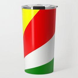 Flag of Seychelles Travel Mug