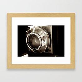 Retina Lens Framed Art Print