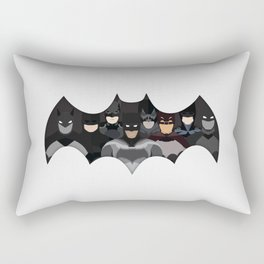 Who is the Bat? Rectangular Pillow