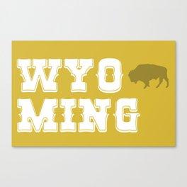 Wyoming  Canvas Print
