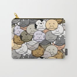 Chubby Cat Balloons Carry-All Pouch
