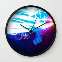 Windy Waves - Lightwriting Wall Clock
