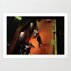 Trainspotting at Lionel Groulx Art Print
