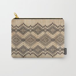 N105 - Traditional Bohemian Oriental African Moroccan Style Design. Carry-All Pouch