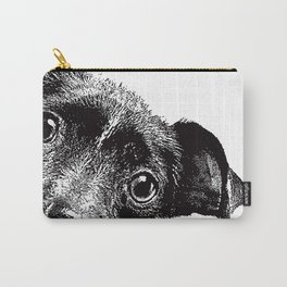 Cute puppy face Carry-All Pouch