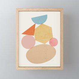 Abstraction_Balances_006 Framed Mini Art Print