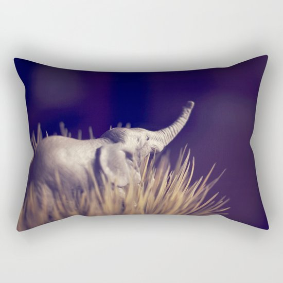 an uncertain future Rectangular Pillow