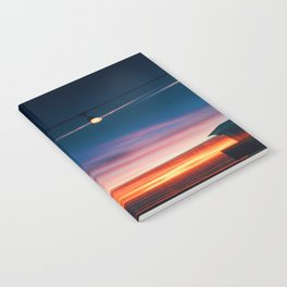 Sunset at Pismo Beach Notebook