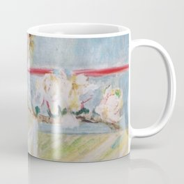 Almond blossoms in the glass Coffee Mug