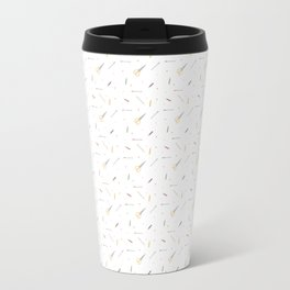 Pencils, Paper, Scissors. Travel Mug