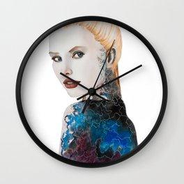 Veneer Wall Clock