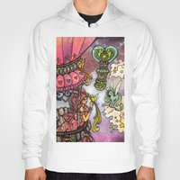80s Hoodies featuring 80s dreamscape by Charlie L'amour