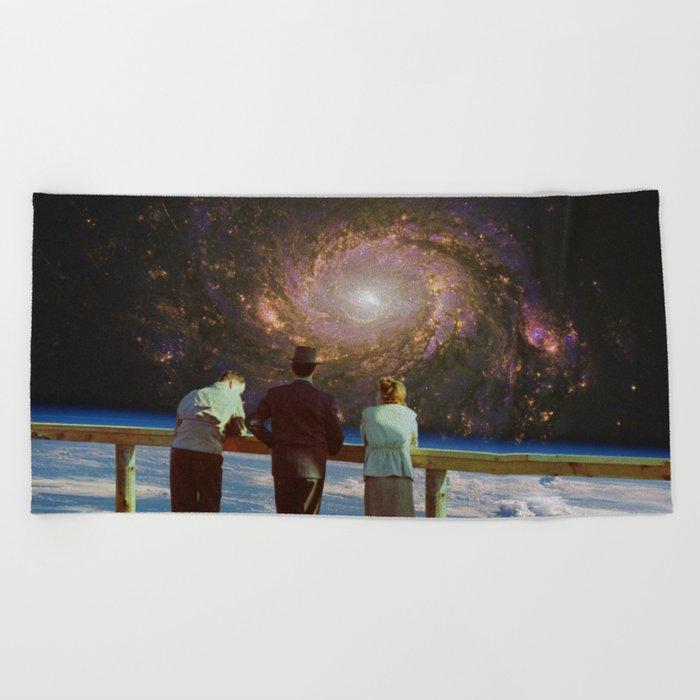 In a Galaxy far away Beach Towel
